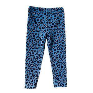 Carter's Blue Leopard Print Leggings